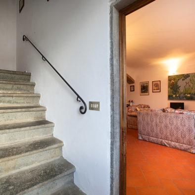Accesso al secondo piano